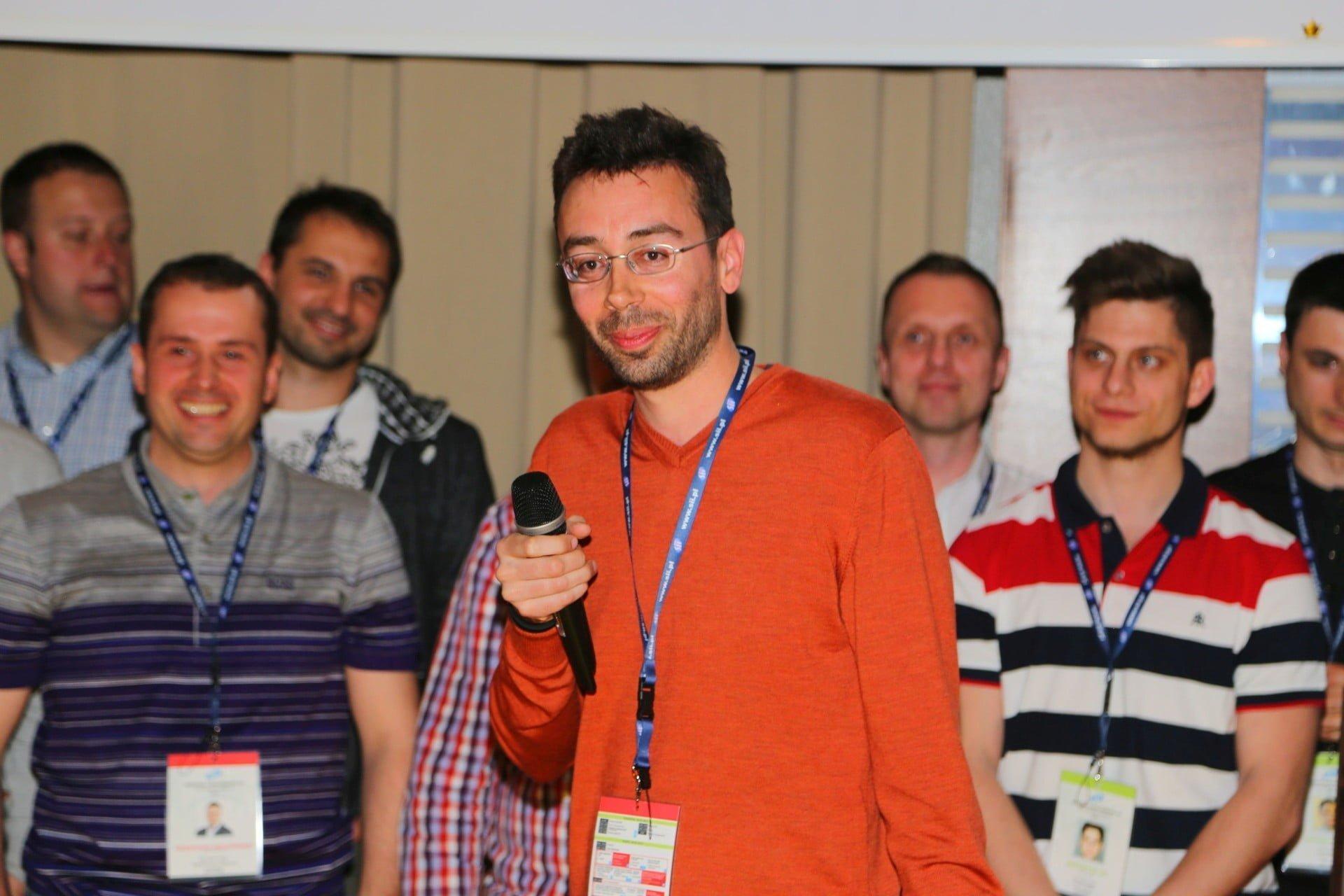 6 Sii Grand Prix 2015 nagrode odbiera Michael Desmurs Dyrektor Sii Gdansk